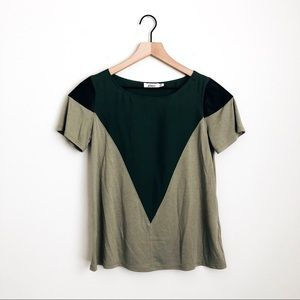 AIKO • june b paneled top